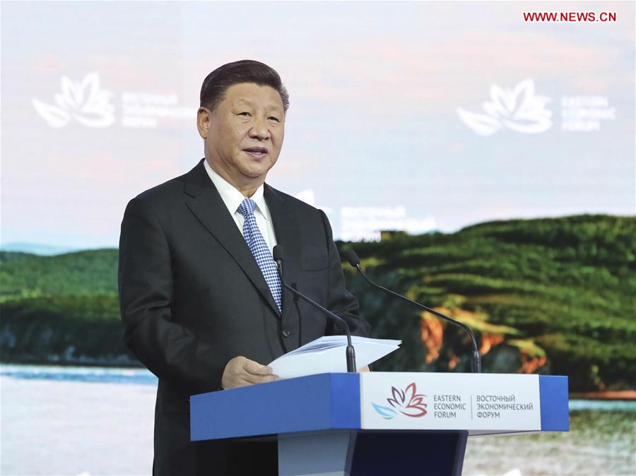 Xi calls for strengthening cooperation in northeast asia for regional peace prosperity
